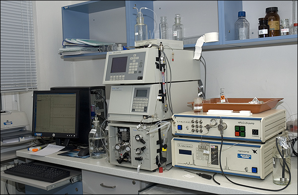 Radio-HPLC WATERS