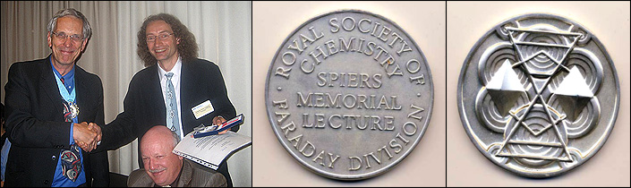 Prof. Pavel Jungwirth - Spiers Memorial Award 2008 Winner